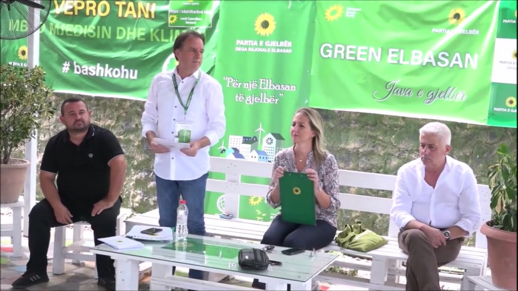 Java e Gjelbër në Elbasan