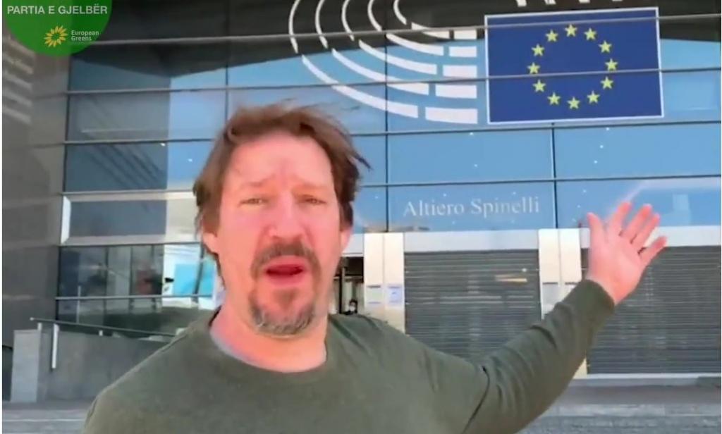 Thomas Waitz, Bashkëkryetar i Partisë së Gjelbër Europiane dhe Deputet i Parlamentit Europian